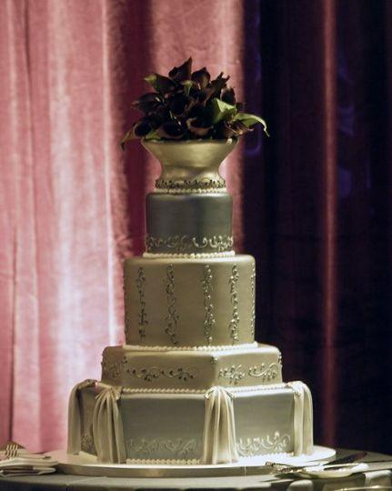 Wedding Cakes Santa Rosa  fleur de lisa cakes Wedding Cake Santa Rosa CA