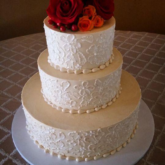 Wedding Cakes Santa Rosa  Rassasy Cakes Wedding Cake Santa Rosa CA WeddingWire