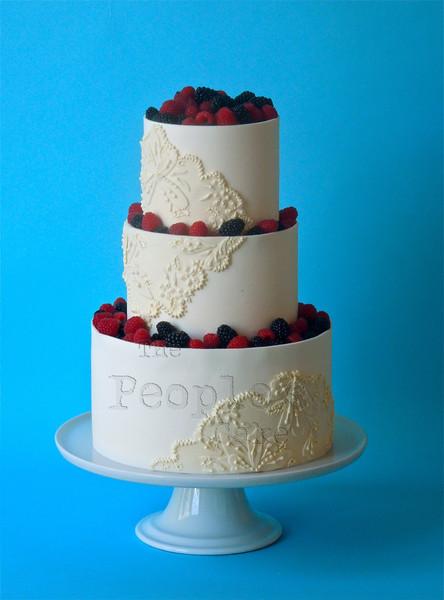 Wedding Cakes Seattle  The People s Cake Seattle WA Wedding Cake