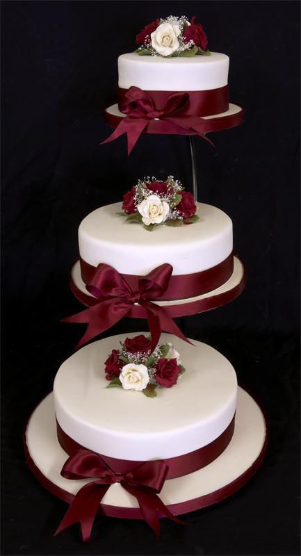 Wedding Cakes Separate Tiers  Ya estoy de novia diciembre 2010