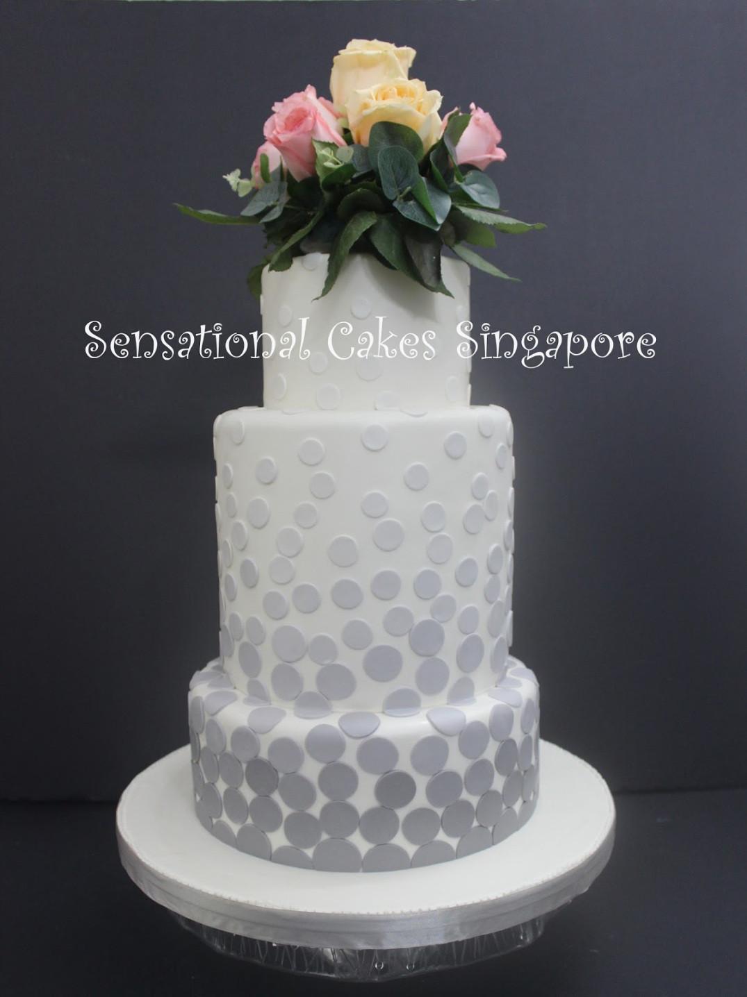 Wedding Cakes Sg  WEDDING CAKE – Sensational Cakes Singapore