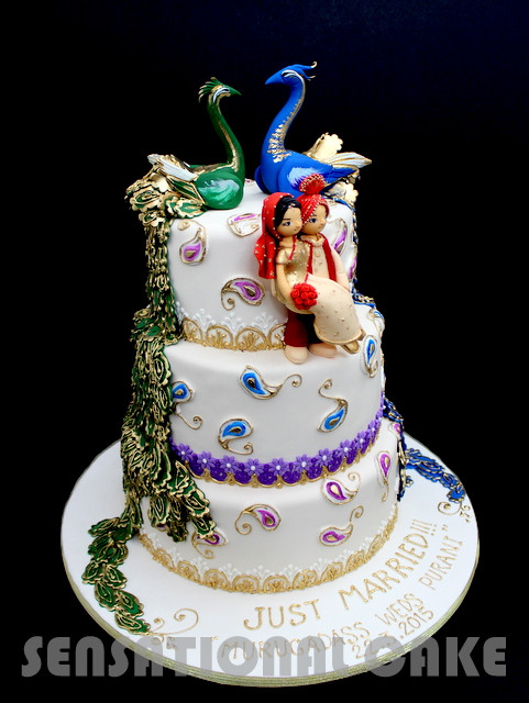 Wedding Cakes Sg  The Sensational Cakes CLASSIC GRAND ROYAL INDIAN THEME