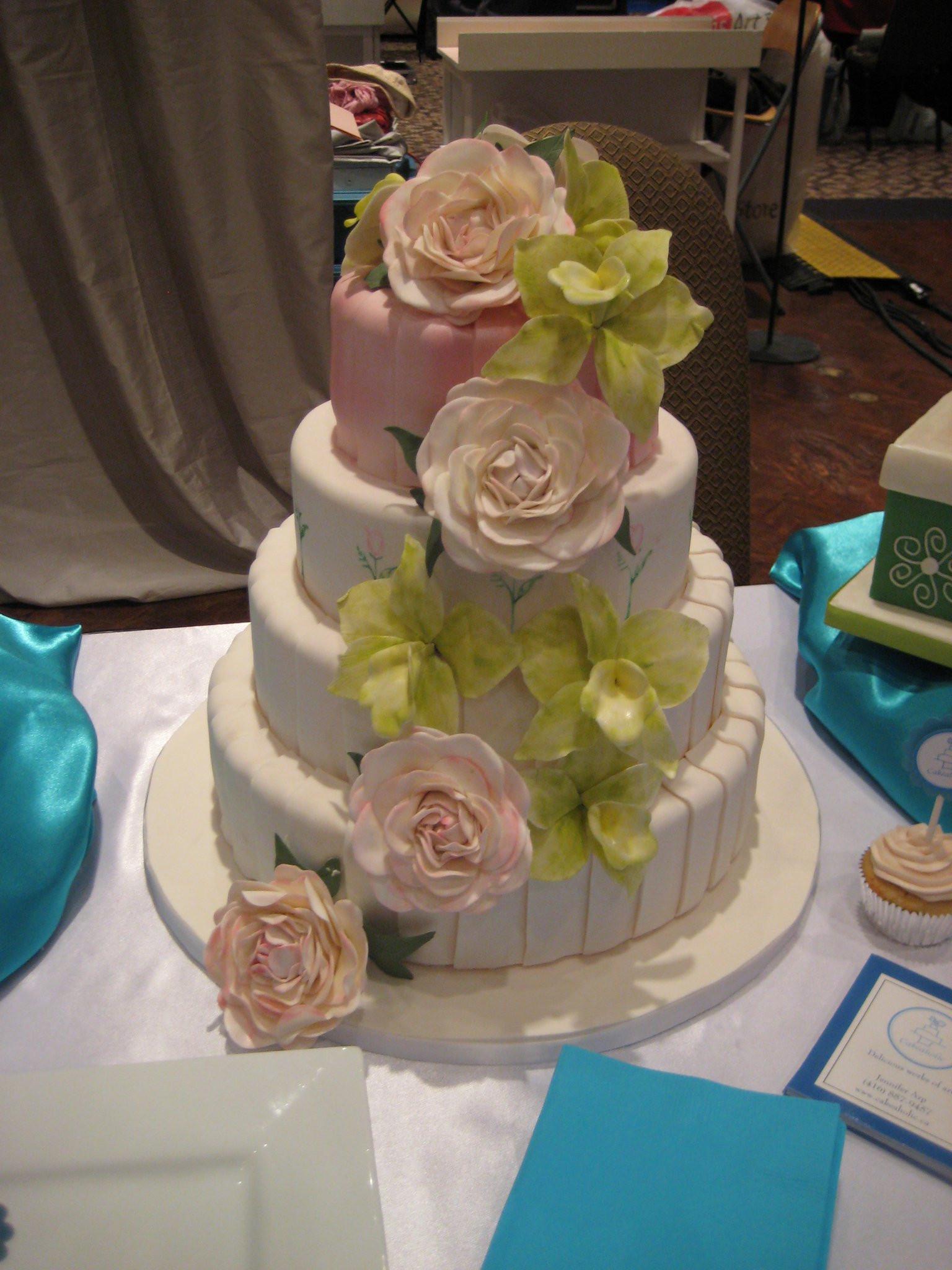 Wedding Cakes Show  2011 Wedding Show Cakes Diary of a Cakeaholic
