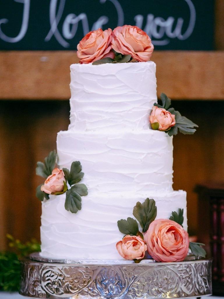 Wedding Cakes Simple  DIY Rustic Wedding by Michael Meeks graphy