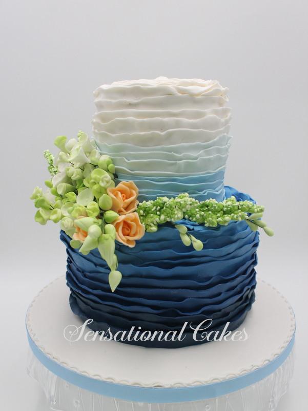 Wedding Cakes Singapore  OMBRE CAKES