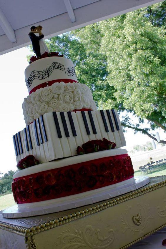 Wedding Cakes Songs  Music themed weddings Themed weddings and Music on Pinterest