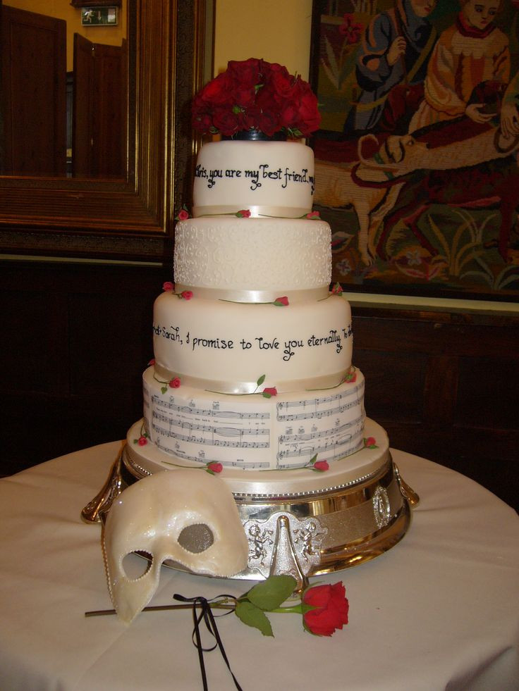 Wedding Cakes Songs  174 best images about Phantom of the Opera on Pinterest