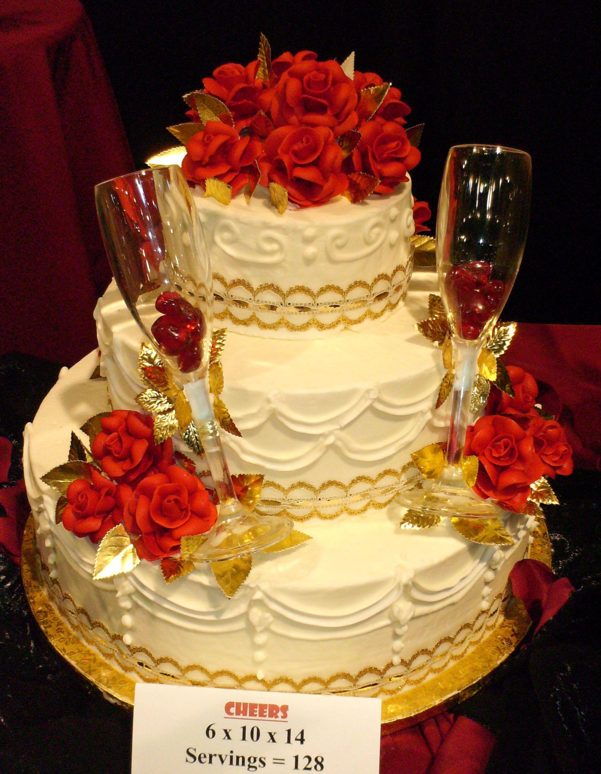 Wedding Cakes Spokane Wa  Rosauers Supermarkets