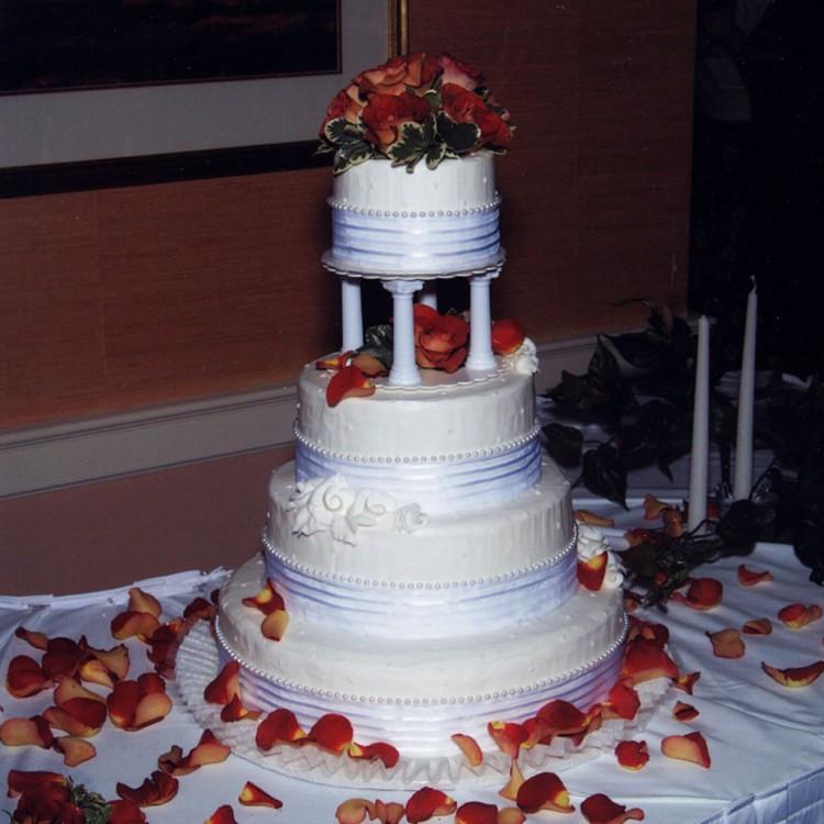 Wedding Cakes Springfield Il  Wedding Cakes Springfield Illinois Florist Wedding Cake