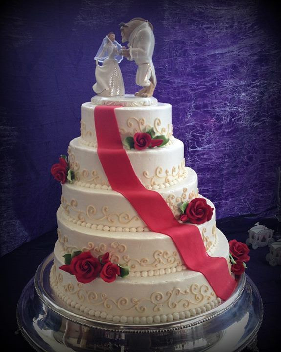 Wedding Cakes Springfield Mo  Beauty and the Beast wedding cake