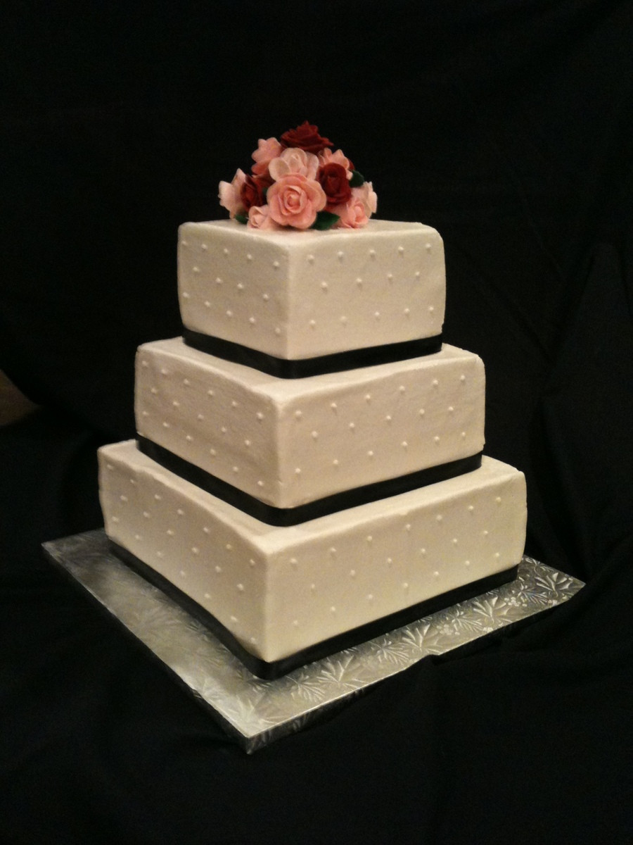 Wedding Cakes Square the Best Ideas for Simple Square Wedding Cake Cakecentral