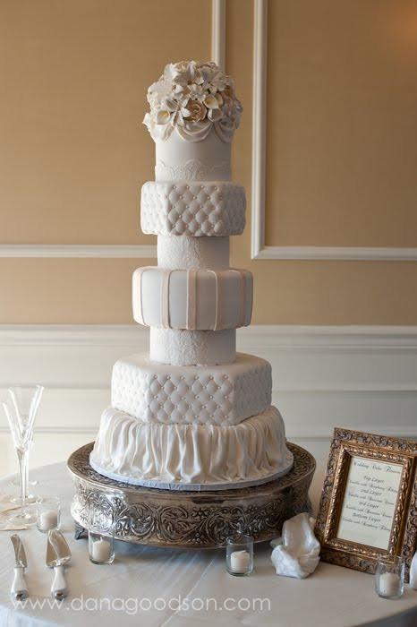 Wedding Cakes St Augustine Fl  Cake Walk Seven Tier Wedding Cake in St Augustine FL