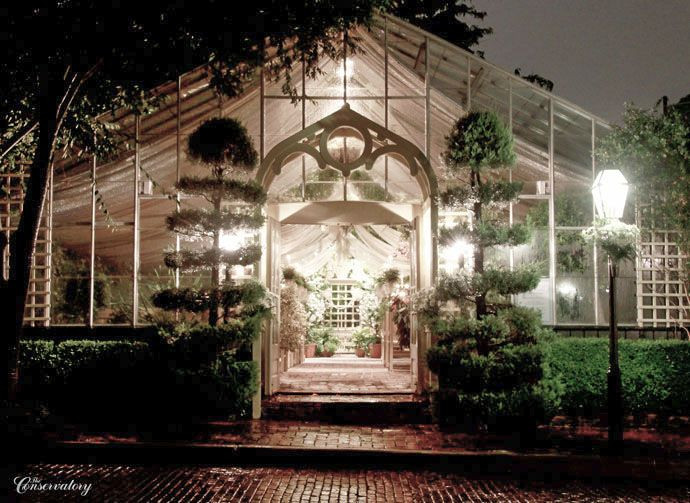 Wedding Cakes St Charles Mo  The Conservatory Garden Wedding Venue St Louis MO