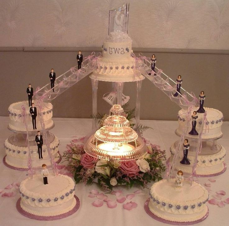 Wedding Cakes Stairs  25 best ideas about Fountain Wedding Cakes on Pinterest