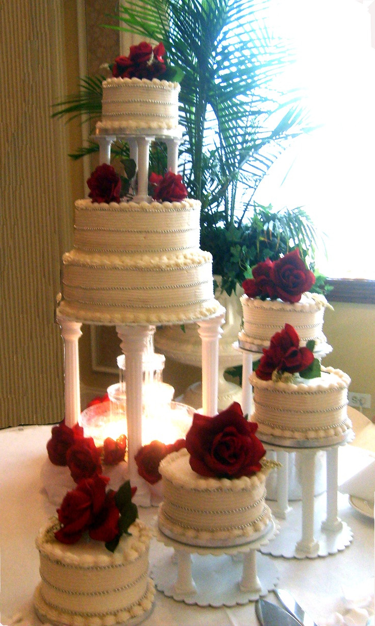Wedding Cakes Stairs  Wedding cake with stairs idea in 2017