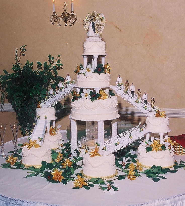 Wedding Cakes Stairs  1000 images about Cake Cake Cake Galore on Pinterest
