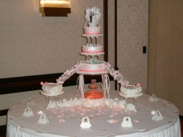 Wedding Cakes Stairs  Best 25 Fountain wedding cakes ideas on Pinterest