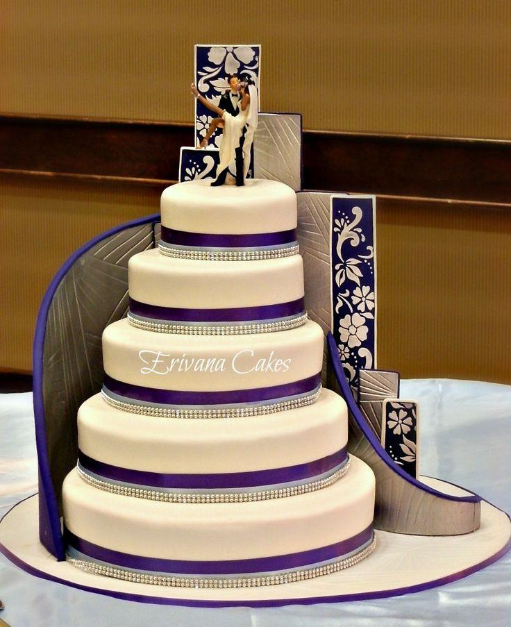 Wedding Cakes Stairs  Stairs wedding cake Buttercream Pinterest