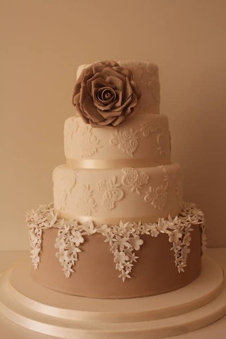 Wedding Cakes Style  Vintage style wedding cake Cake by Tillymakes CakesDecor