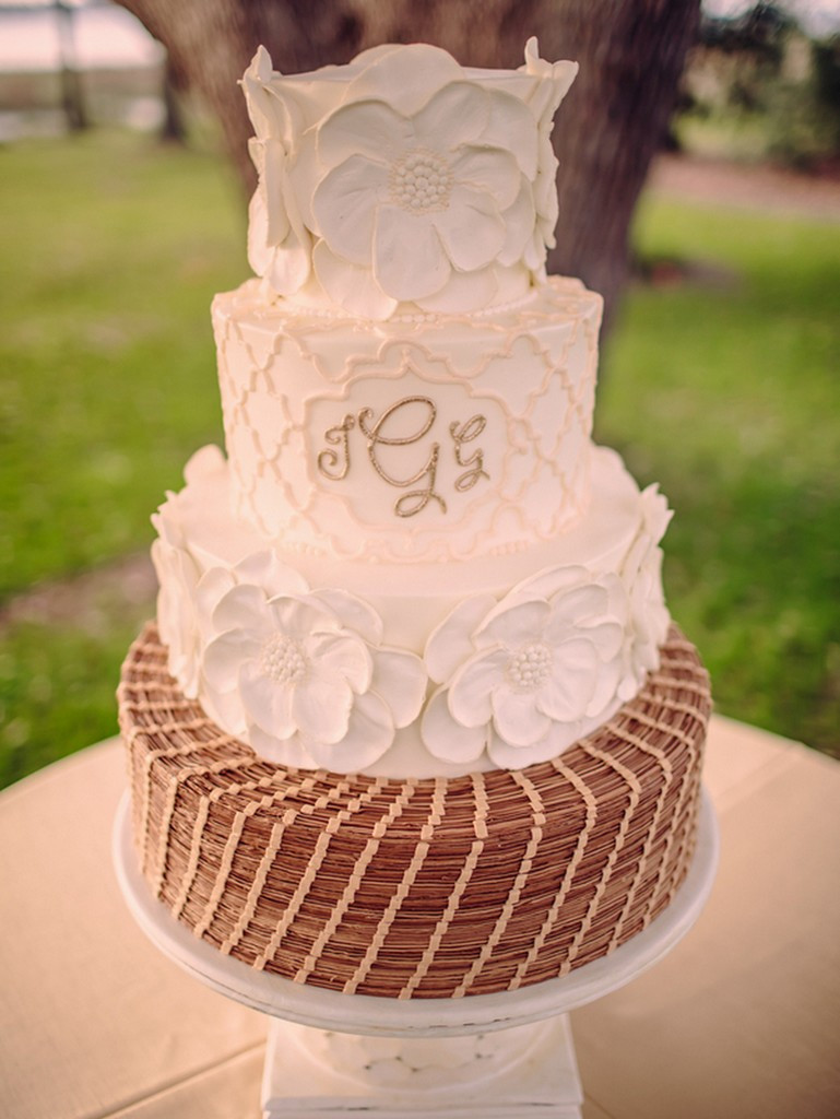 Wedding Cakes Summerville Sc  Southern Wedding In Charleston by Richard Bell graphy