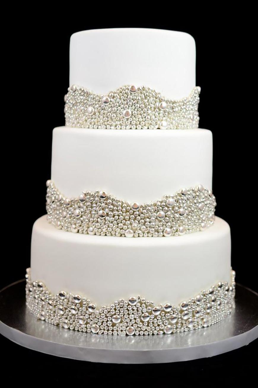 Wedding Cakes Supplies 20 Best Ideas Silver Wedding Cake Decorations