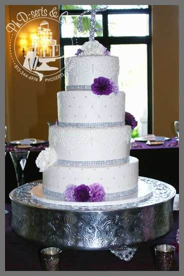 Wedding Cakes Tampa  Wedding Cakes Tampa Pleasant Wedding Cakes Fondant