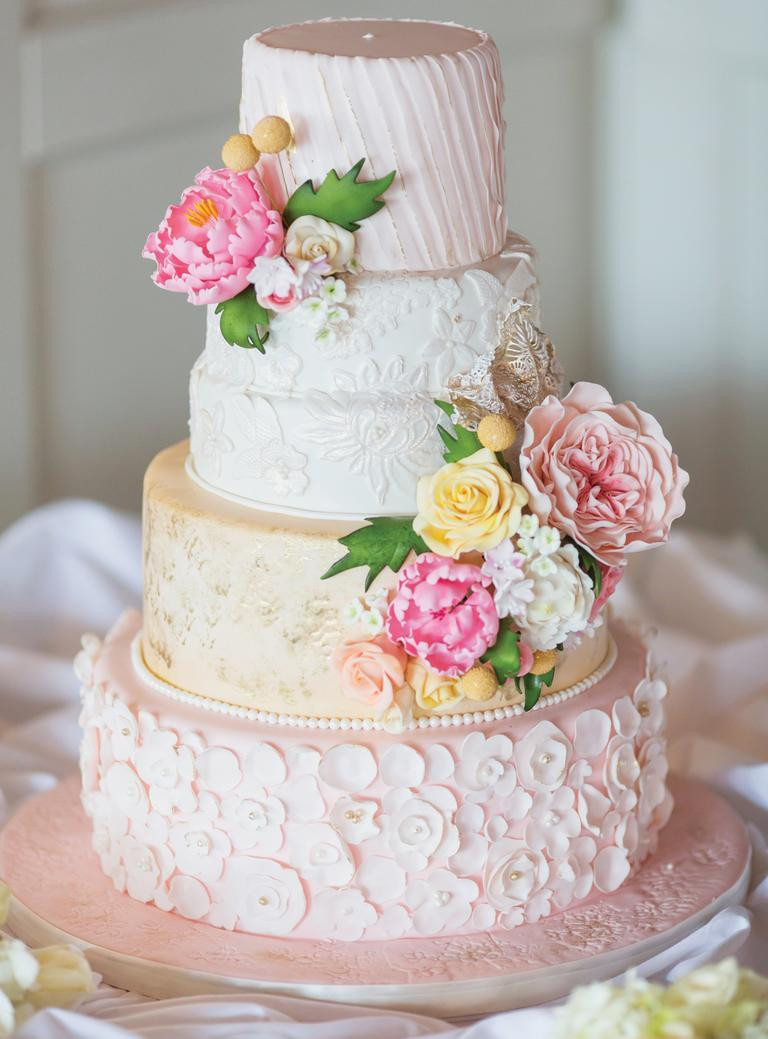 Wedding Cakes Theme  Spring Themed Wedding Cake Ideas