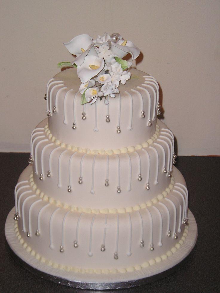 Wedding Cakes Tiered  3 Tier Wedding Cake Designs Wedding and Bridal Inspiration