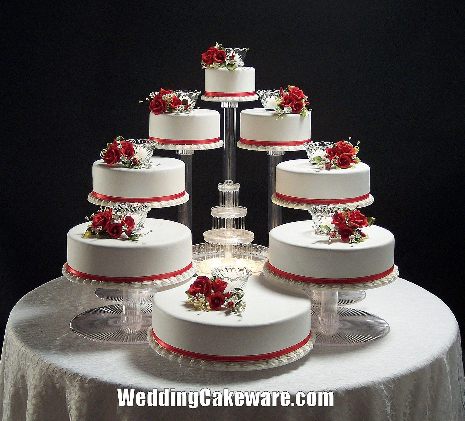 Wedding Cakes Tiers  8 Tier Cascade Wedding Cake Stand Stands Set • $84 95