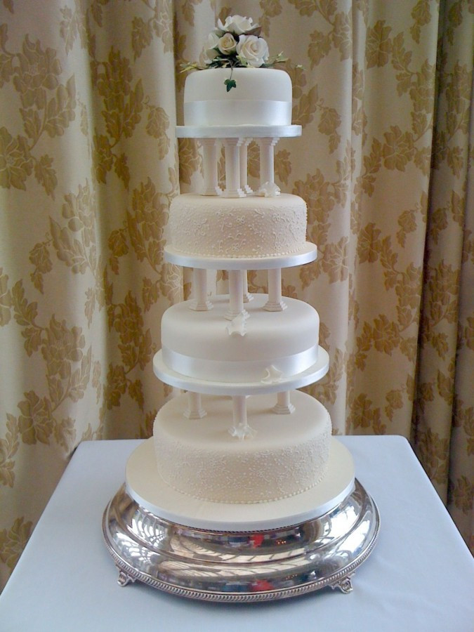 Wedding Cakes Tiers  Wedding Cake Delivery to Ballygally Castle Jenny s Cake