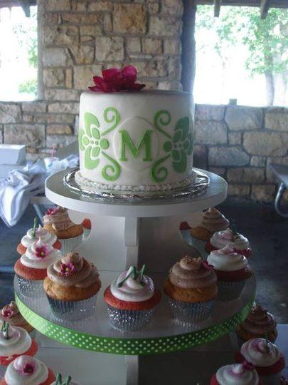 Wedding Cakes Topeka Ks  Mad Eliza s Cakes & Confections Wedding Cake Topeka