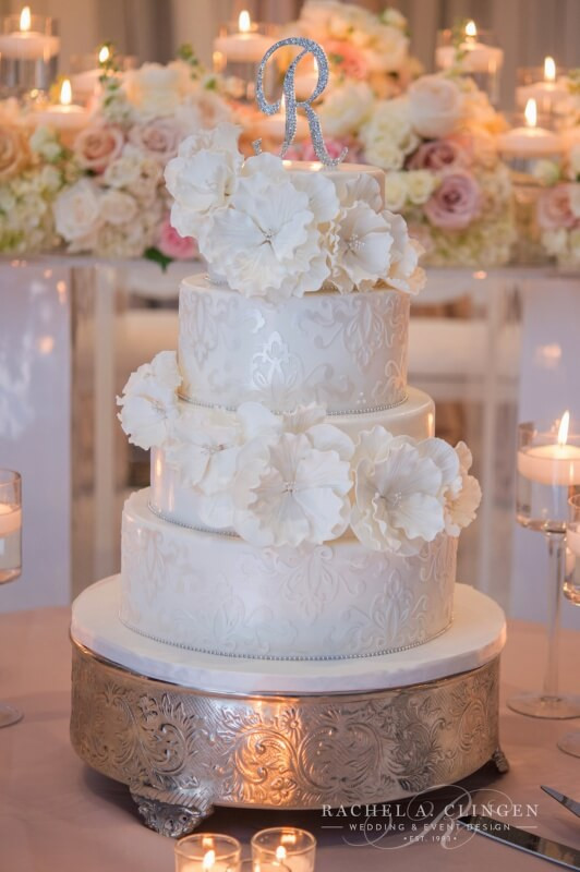 Wedding Cakes Toronto  white wedding cake Wedding Decor Toronto Rachel
