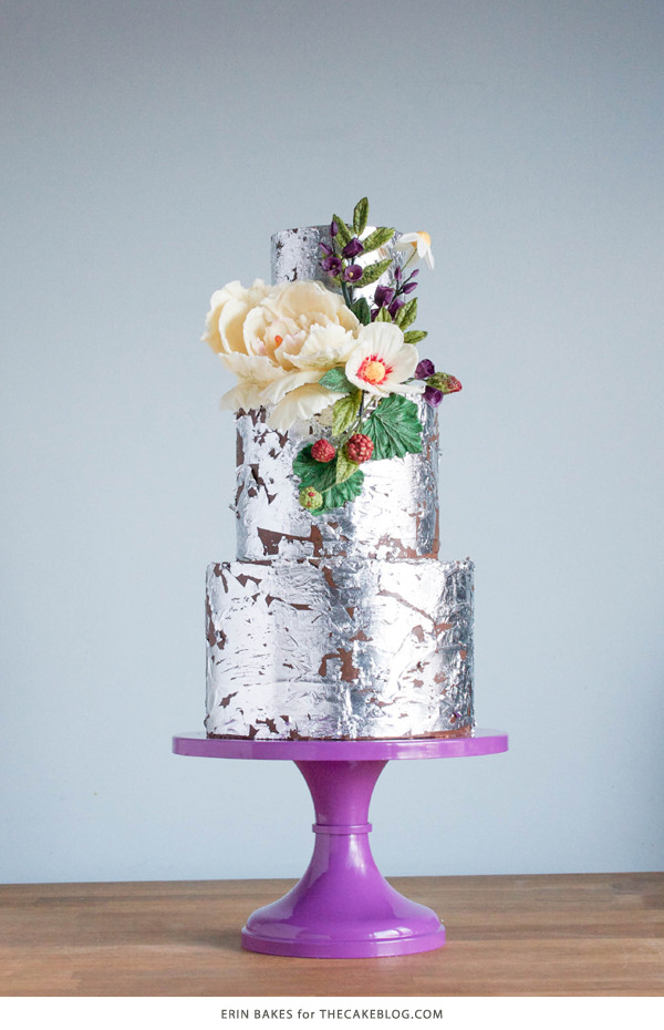 Wedding Cakes Trends 2015  2015 Wedding Cake Trends Organically Styled Florals
