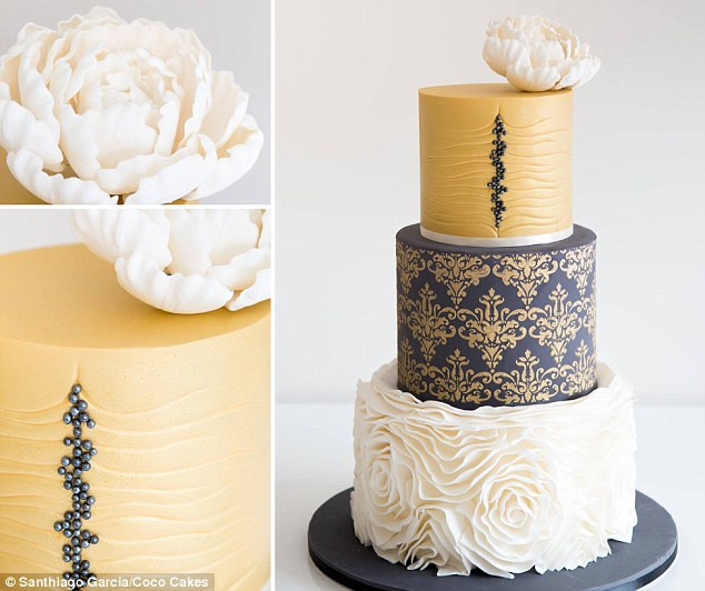 Wedding Cakes Trends 2015  Wedding cake trends for 2015 include even light up