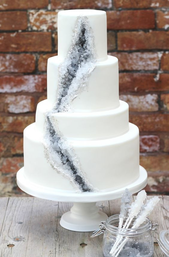 Wedding Cakes Trends  2017 Wedding Cake Trends – Dipped In Lace