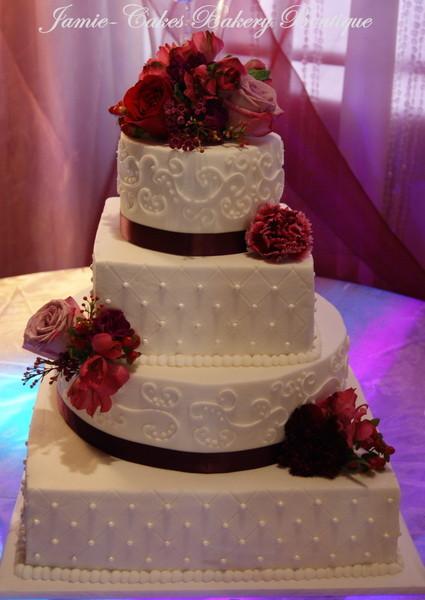 Wedding Cakes Tucson  Jamie Cakes Bakery Boutique Tucson AZ Wedding Cake