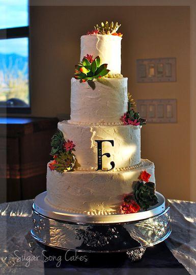 Wedding Cakes Tucson  Sugar Song Cakes Wedding Cake Tucson AZ WeddingWire