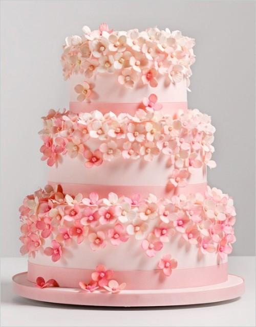 Wedding Cakes Tumblr  flower wedding cake on Tumblr