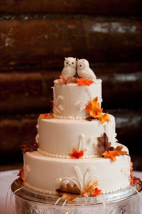 Wedding Cakes Tumblr  fall wedding cakes