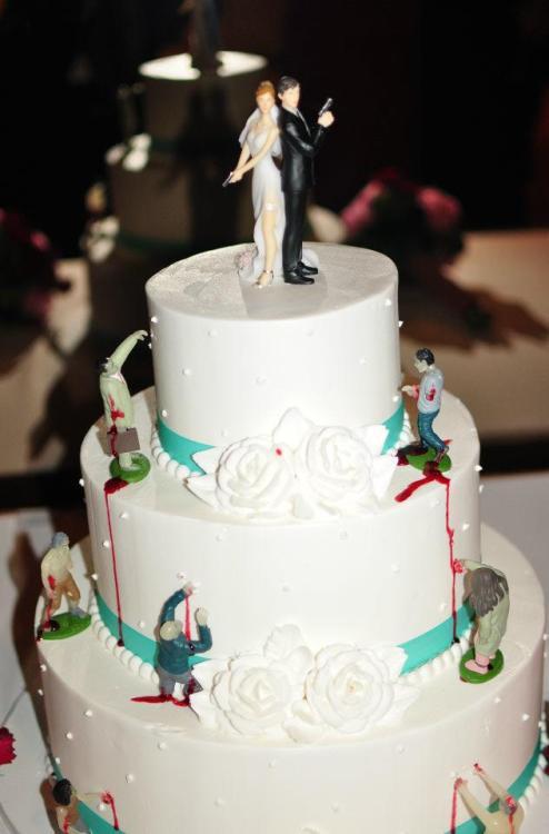 Wedding Cakes Tumblr  zombie wedding cake on Tumblr