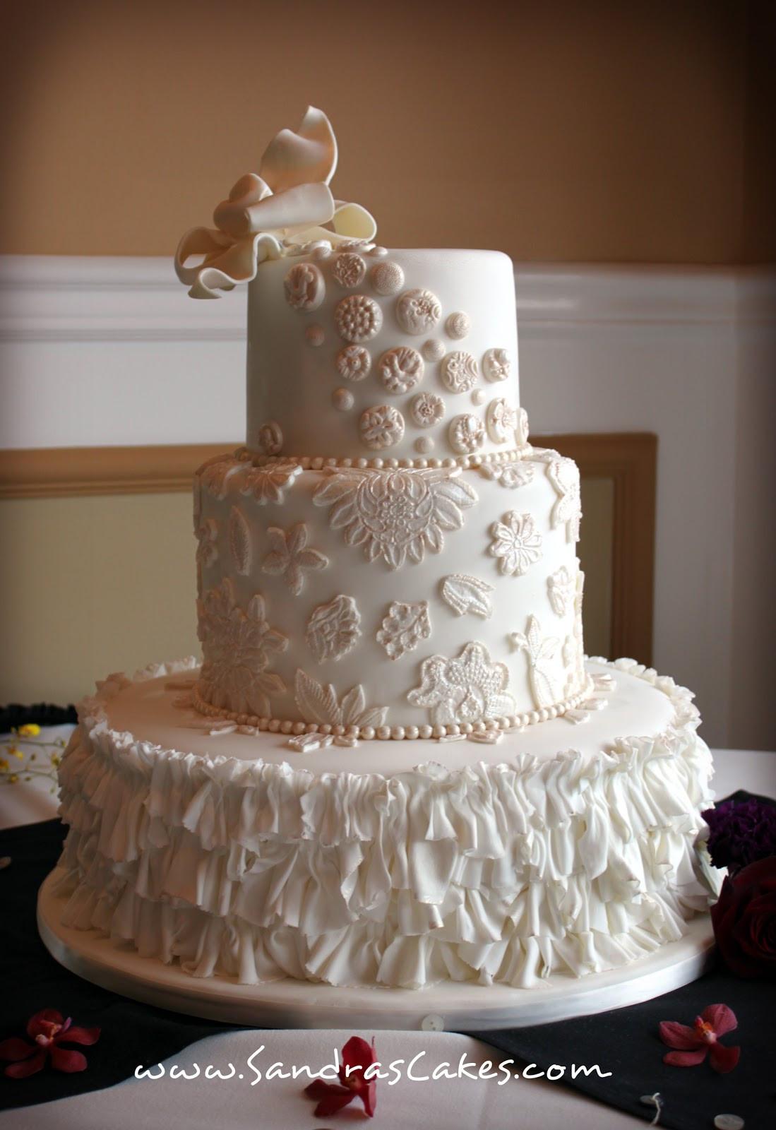 Wedding Cakes Vintage  Vintage Wedding Cake