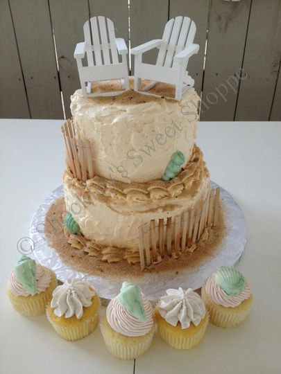 Wedding Cakes Virginia Beach  Shockley s Sweet Shoppe Wedding Cake Virginia Beach