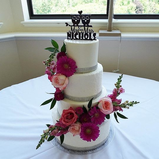 Wedding Cakes Vt  North Country Cakes Wedding Cake Morrisville VT