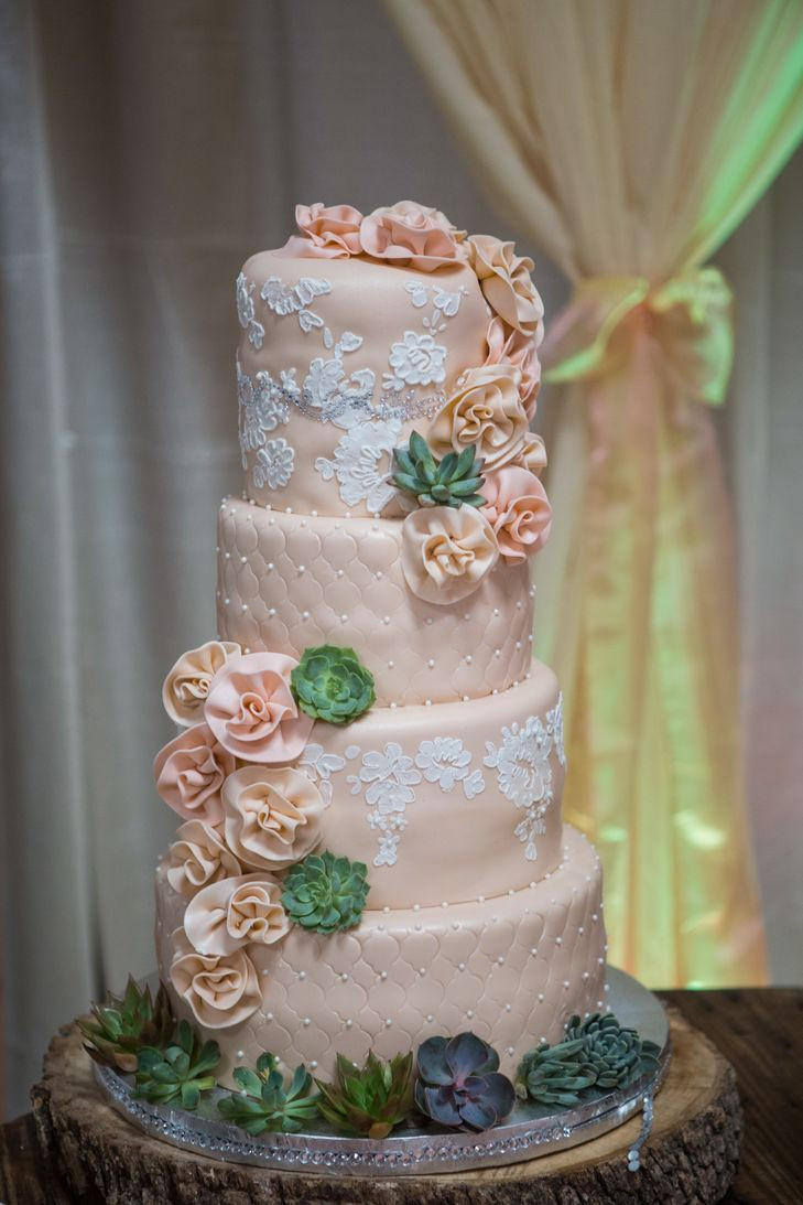 Wedding Cakes Waco Tx  A Southwestern DIY Wedding at a Private Residence in Waco