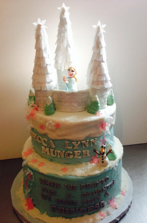 Wedding Cakes Waco Tx  Frozen cake Cake by Cake Waco CakesDecor