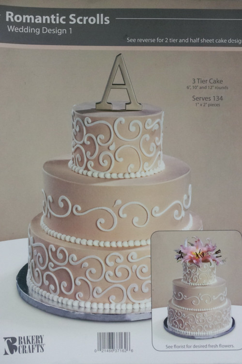 Wedding Cakes Walmart  Wedding cake at walmart idea in 2017