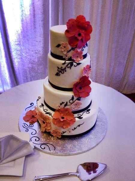 Wedding Cakes West Palm Beach  Johnson s Custom Cakes West Palm Beach FL Wedding Cake