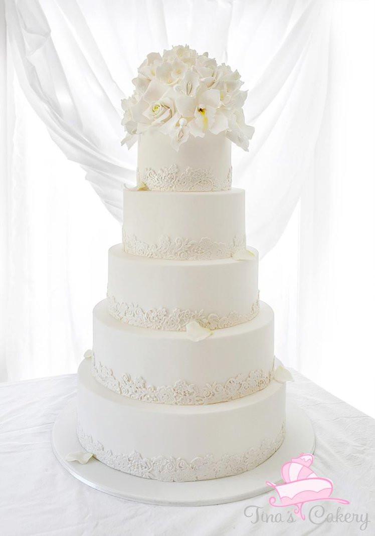Wedding Cakes White  White wedding cake by Igasm on DeviantArt