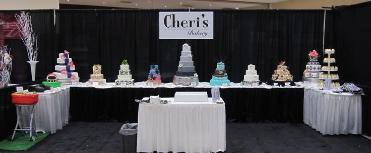 Wedding Cakes Wichita Ks  8 best images about Bridal Show Displays on Pinterest