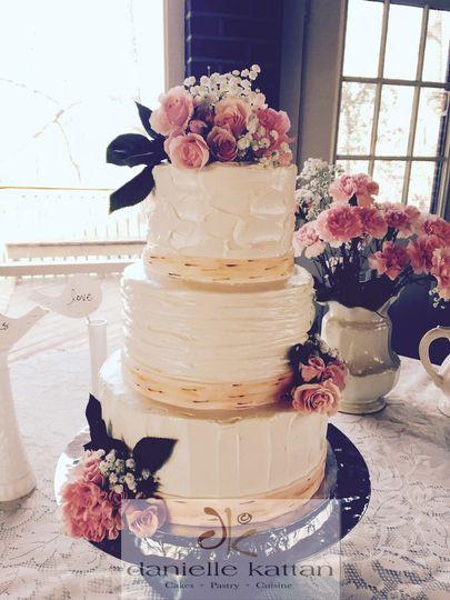 Wedding Cakes Winston Salem  Danielle Kattan Cakes Wedding Cake Winston Salem NC